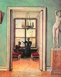В комнатах (Ф.П. Толстой)