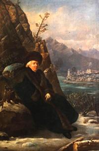 Портрет Г.Р. Державина (С. Тончи, 1799 г.)