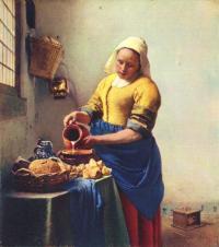 Ян Вермер Молочница. 1658. Рейксмузей. Амстердам.jpg