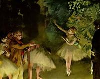 Репетиция балета (Э. Дега, 1875 г.)