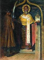 Икона Святого Николы (В.В. Верещагин)