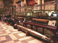Экспозиция центрального военно-морского музея
