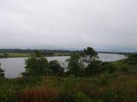Вид из усадьбы Званка