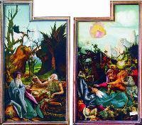"""""""Искушение Святого Антония"""". 1512-1515 года. Изенхеймский алтарь"""