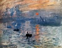 Впечатление, восход солнца (К. Моне, 1873 г.)